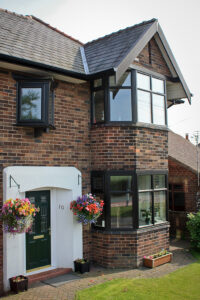 UPVC Replacement Windows in Black